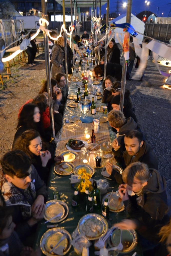 Community Dinner at the Long Table