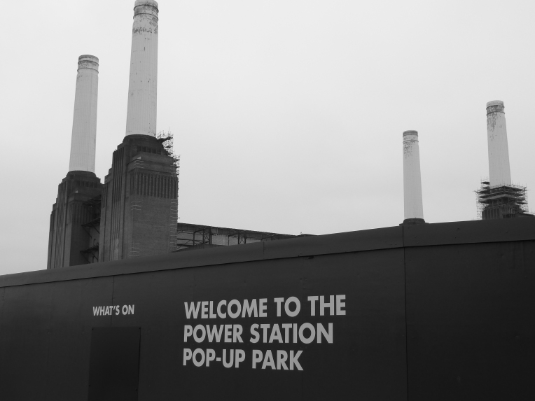 Battersea Power Station. Photograph: Kenn Taylor