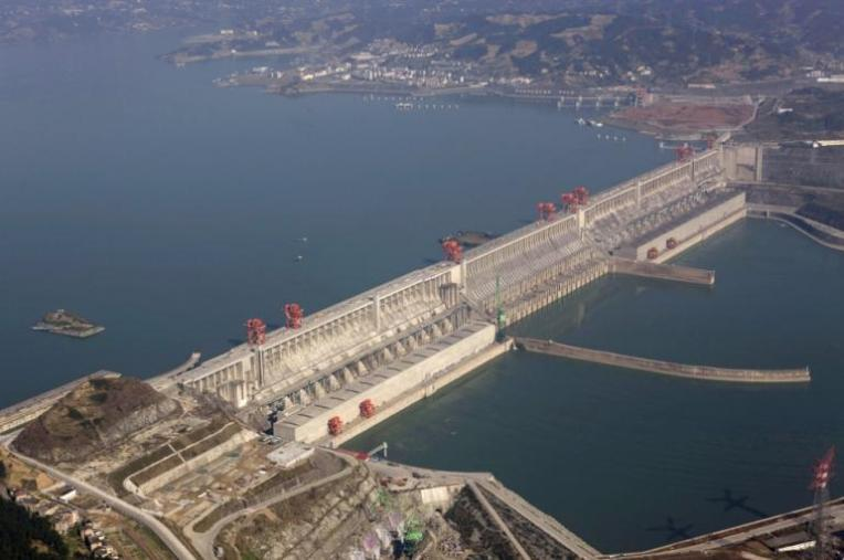 Three Gorges Dam, China. Source: Reuters