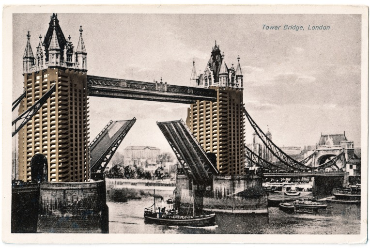 'Twin Tower Bridge'. Image: Jasper Sutherland